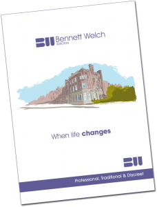 Pop in for a FREE Bennett Welch Brochure
