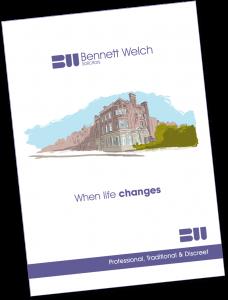 Pop in for a FREE Bennett Welch Brochure